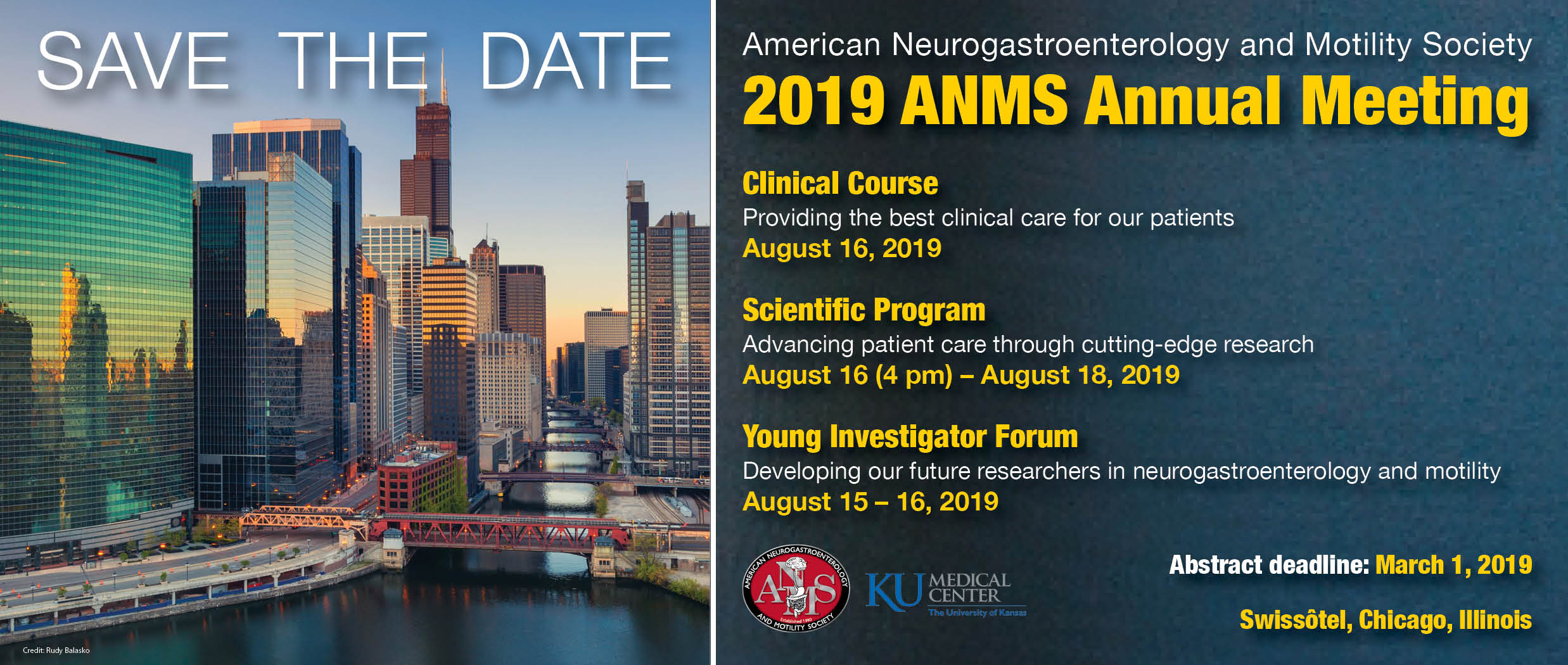 2019 ANMS Annual Meeting